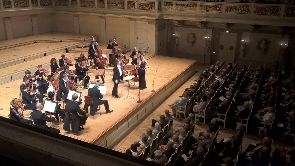 Nathalie Stutzmann and Anna Prohaska at Berlin Konzerthaus