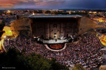 """JULY 5, 2018<br>Chorégies d'Orange<br><font size=""""2"""">Théâtre Antique, Orange, France</font>"""