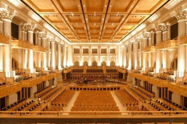 """APRIL 11, 2019<br>São Paulo Symphony Orchestra (Osesp)<br><font size=""""2"""">Sala São Paulo, São Paulo, Brazil </font>"""