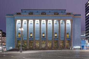 """FEBRUARY 20, 2019<br>Royal Stockholm Philharmonic Orchestra<br><font size=""""2"""">Konserthus, Stockholm, Sweden</font>"""