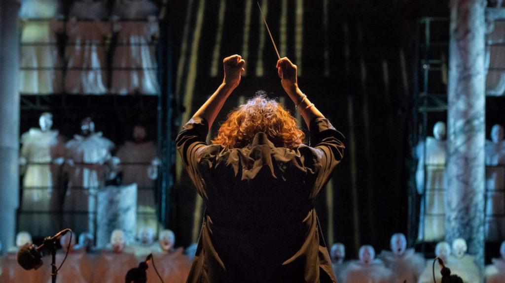N. Stutzmann: making of opera production Mefistofele Boito